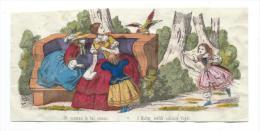 Imagerie Epinal / Pellerin ? /Bilingue Franco Allemande/Oh Maman Le Bel Oiseau/ Vers 1850-1870     IM519 - Other