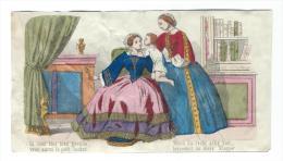 Imagerie Epinal / Pellerin ? /Bilingue Franco Allemande/Si Vous êtes Bien Gentille/ Vers 1850-1870     IM520 - Other