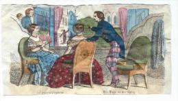 Imagerie Epinal / Pellerin ? /Bilingue Franco Allemande/La Loge à L´Opéra/ Vers 1850-1870     IM521 - Other