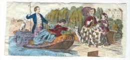 Imagerie Epinal / Pellerin ? /Bilingue Franco Allemande/La Visite En Bateau/ Vers 1850-1870     IM522 - Other