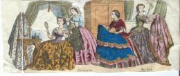 Imagerie Epinal / Pellerin ? /Bilingue Franco Allemande/La Toilette/Vers 1850-1870     IM524 - Other