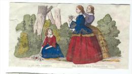 Imagerie Epinal / Pellerin ? /Bilingue Franco Allemande/La Jolie Petite Bouquetiére/Vers 1850-1870     IM526 - Other