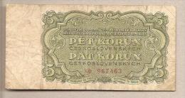 Cecoslovacchia - Banconota Circolata Da 5 Corone  - 1961 - Tchécoslovaquie