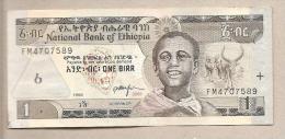 Etiopia - Banconota Circolata Da 1 Birr - 2006 - Etiopia