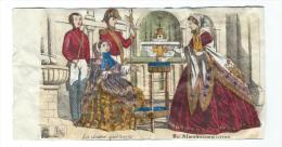 Imagerie Epinal / Pellerin ? /Bilingue Franco Allemande/LaDame Quêteuse/Vers 1850-1870     IM528 - Other