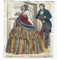 Imagerie Epinal / Pellerin ? /Bilingue Franco Allemande/L´entrée Au Salon /Vers 1850-1870     IM534 - Other