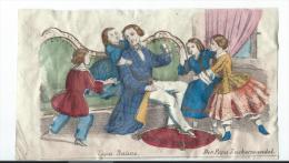 Imagerie Epinal / Pellerin ? /Bilingue Franco Allemande/Papa Praline/Vers 1850-1870     IM535 - Other