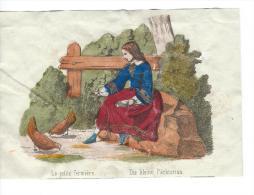 Imagerie Epinal / Pellerin ? /Bilingue Franco Allemande/La Petite Fermiére/Vers 1850-1870     IM536 - Other