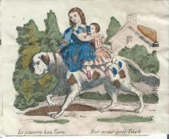 Imagerie Epinal / Pellerin ? /Bilingue Franco Allemande/Le Pauvre Bon Turc/Vers 1850-1870     IM539 - Other