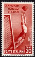 ITALIE   N° 339   *   Cup  1934  Fussball  Soccer   Football - Coppa Del Mondo