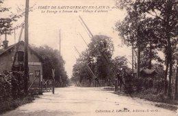 Achères..Forêt De St-Germain-en-Laye..passage à Niveau - Acheres