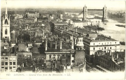 London. - General View From The Monument - London Suburbs