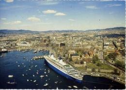 Oslo Norway - S-s Noway - At Akershurs Castle - Formato Grande Viaggiata - D - Norway