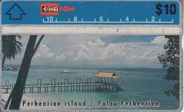 MALAYSIA(L&G) - Perhentian Island, CN : 208B, Tirage 75000, Used