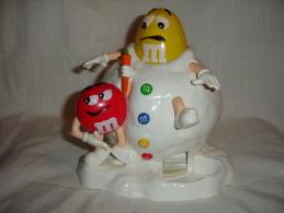 Distributeur De Bonbons M&M´s Avec Bonhomme De Neige (13-4582) - Figurines