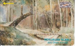 MALAYSIA(GPT) - Painting/Kehijauan Alam, CN : 53MSAA/C, Used - Malaysia