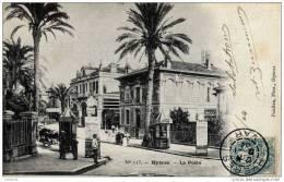 83- HYERES-Carte Précurseur Dos Non Divisé-La Poste-animée - Hyeres
