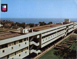 (457) Chile - Valparaiso Naval School + Stadium (top Left Corner) - Chili