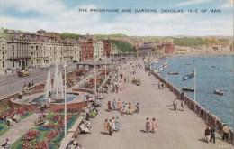 The Promenade & Gardens, Douglas, Isle Of Man, Valentine & Sons - Posted Douglas To Australia 1962 - Isle Of Man
