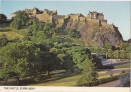 The Castle, Edinburgh, Scotland - Colourmaster EDI 615, Posted To Australia 1981 - Midlothian/ Edinburgh