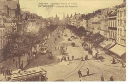 BELGIQUE - ANVERS - PANORAMA AVENUE DE KEYSER - Belgique