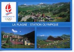 La Plagne Station Olympique Albertville 92 - Multivues N°5 André Grenoble - Otros Municipios