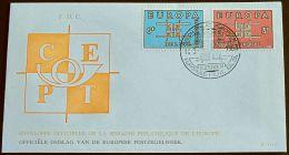 BELGIEN 1963 MI-NR. 1320/21 CEPT FDC (111) - Europa-CEPT
