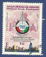UNITED ARAB EMIRATES - UAE USED1998 TRIPLE INTERNATIONAL DEFENCE EXHIBITION CONFERENCE ABU DHABI MILITARY ARMY RADAR - United Arab Emirates