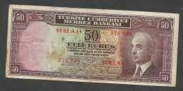 [NC] TURKEY / TURCHIA - 50 KURUSH (1930) - Turchia