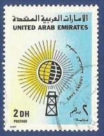 UNITED ARAB EMIRATES - UAE USED 1987 SAVE ENERGY - United Arab Emirates
