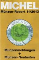 MICHEL Briefmarken Rundschau 11/2013 Neu 5€ New Stamp Of The World Catalogue And Magacine Of Germany ISBN4 194371 105009 - Other