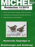 MICHEL Briefmarken Rundschau 11/2013 Neu 5€ New Stamps Of The World Catalogue Magacine Of Germany ISBN 4 194371 105009 - Allemagne
