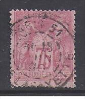 SAGE  N°  81   - Cote : 150 € - 1876-1898 Sage (Type II)