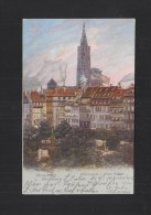 CP Strasbourg Place Kleber 1902 - Alsace