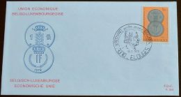 BELGIEN 1972 MI-NR. 1673 FDC (111) - 1971-80