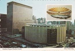 EE.UU--New York--1977--Estadio Madison Square Garden Center--Fechador--New York--Sello -a, Saint Marcel, Francia - Estadios