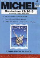 MICHEL Briefmarken Rundschau 12/2013 Plus Neu 5€ New Stamps World Catalogue And Magacine Of Germany ISBN 4 194371 105009 - Switzerland