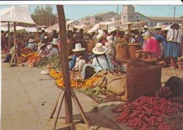 Bolivia--Cochabamba--Mercado--1978--Franqueo Pagado--Pre Paid--Port Paie--Fechador--Cochabanba-a, Le Boulou, Francia - Bolivia