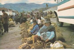 Ecuador--1980--Costumbres Tipicas En Ferias De Machanchi ,provincia De Pichincha---a, Bresles , Francia - Ecuador