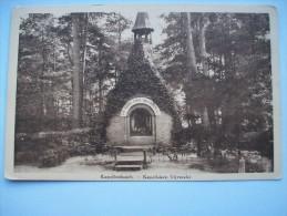 Ma Réf: 54-9-1.             Kapellenbosch    Kapelleken Vijverslei.   ( Teinte Bistre ). - Kapelle-op-den-Bos