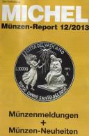 Briefmarken Rundschau MICHEL 12/2013 Neu 5€ New Stamps Of The World Catalogue Magacine Of Germany ISBN 4 194371 105009 - German