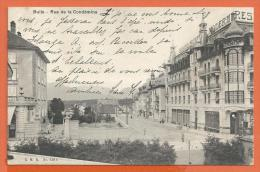 FEL880, Bulle, Rue De La Condémine, Grand Hôtel Moderne, 429, Circulée 1921 - FR Fribourg