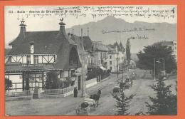 FEL881, Bulle, Avenue De Gruyères Et Dent De Broc, 651, Calèche, Attelage, Circulée 1912 - FR Fribourg