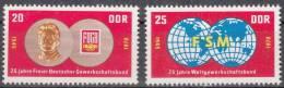 DDR 1577-1578 Postfrisch ** (17490) - Neufs