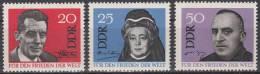 DDR 1049-1051 Postfrisch ** (17500) - [6] République Démocratique