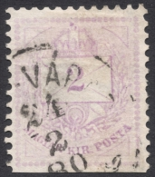 Hungary, 2 K. 1874, Sc # 13a, Mi # 15B, Used - Hungary