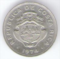 COSTA RICA 25 CENTIMOS 1974 - Costa Rica
