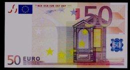 "Test Note ""unbek. Hersteller"" 50 EURO, Testnote, Beids. Druck, RRRR, UNC, 180 X 97 Mm - EURO"