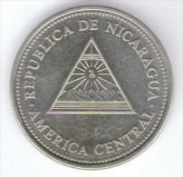 NICARAGUA 5 COLONES 2000 - Nicaragua