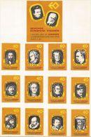 Hollande 25 étiquettes Personnages Européens Historiques (24 Petites 1 Grande) Série Complète - Matchbox Labels